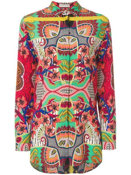 ETRO blouse women silk top