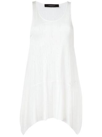 top sleeveless top sleeveless women white