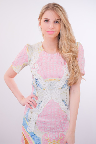Pucciesque print dress – glamzelle