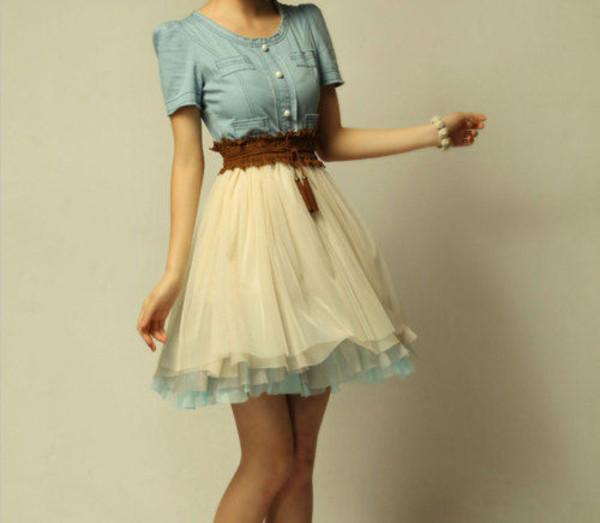 dress belt shirt and skirt or dress