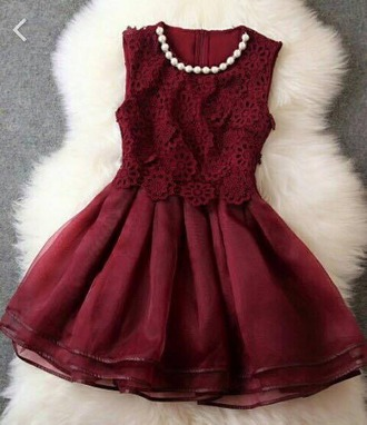 dress red dress classy dress red classic pearl