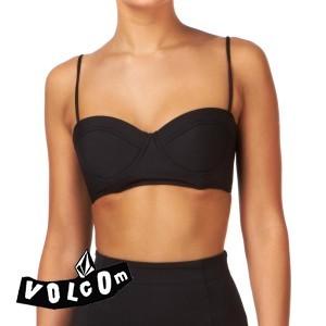 Volcom rear view underwire corset  womens  bikini top