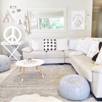 home accessory peace hipster living room coffee table sofa