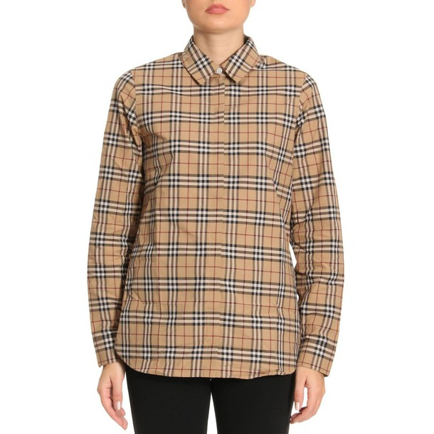 Burberry shirt women beige top