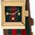 Gucci Red and Green G-frame Watch