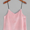 Pink velvet cami top -shein(sheinside)