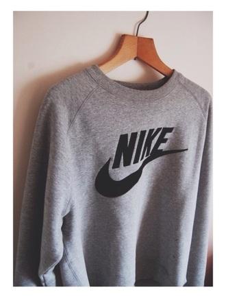 sweater nike grey