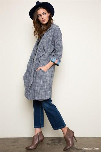 jacket woven blazer jacket woven