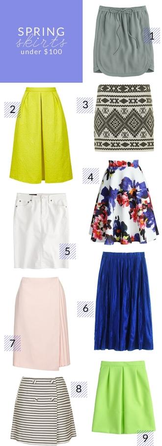 poor little it girl blogger skirt