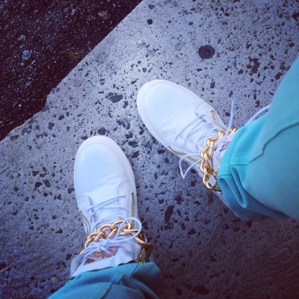 jeans white gold giuseppe high tops! forever 21 light blue skinny jeans Giuseppe Zanotti high-top sneakers Giuseppe Zanotti black sneakers Giuseppe Zanotti lace-up sneakers