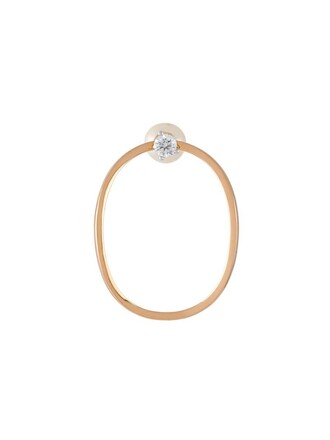 pearl earrings yellow orange jewels