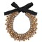 Night market pearl necklace, women's, brown