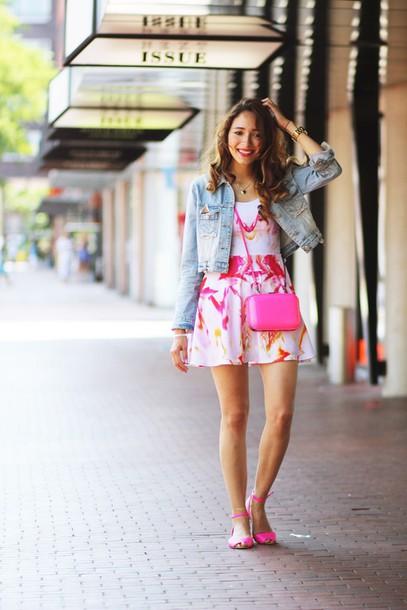 preppy fashionist blogger jacket bag jewels shoes