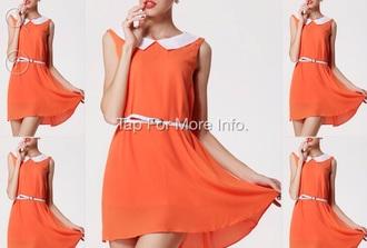 dress mini orange orange dress mini dress
