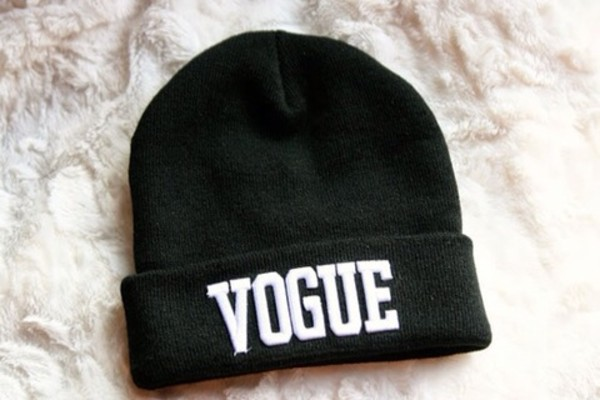 a7d7714b6cf Vogue knitted hat knitted hat bboy cap elastic hiphop cap vogue cold ...