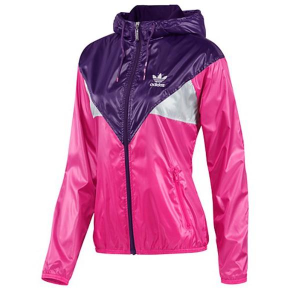 jacket adidas purple adidas jacket windproof windbreaker adidas originals