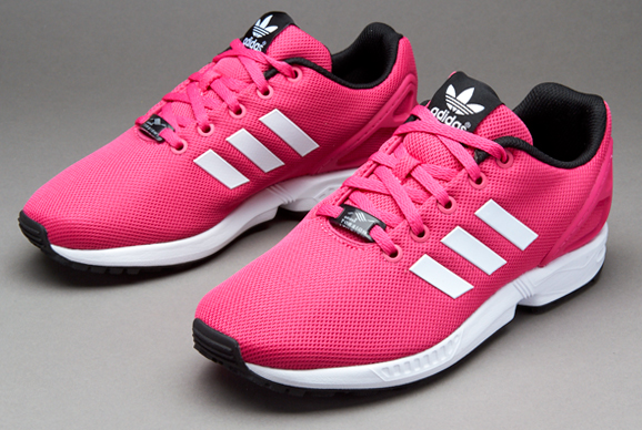 brand new 0c9c7 f658f adidas Originals ZX Flux K - Girls Shoes - Equator Pink/White/Core Black