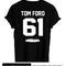 Tom ford 61 tshirt back