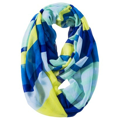 Merona® Striped Infinity Scarf - Multicolored : Target