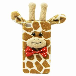 Amazon.com: Lovely Giraffe Handmade Plush Case For iPhone 5/5s: Cell Phones & Accessories