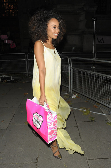 dress yellow dress little mix exactly like this 👌 leigh-anne pinnock