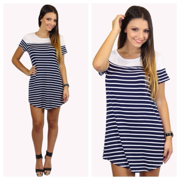 Striped Casual Dresses