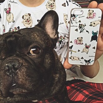 phone cover yeah bunny pugs frenchie dog iphone tumblr cute