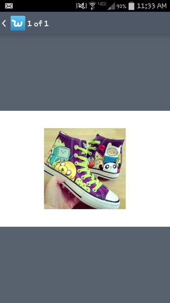 shoes finn and jake adventure time shoes