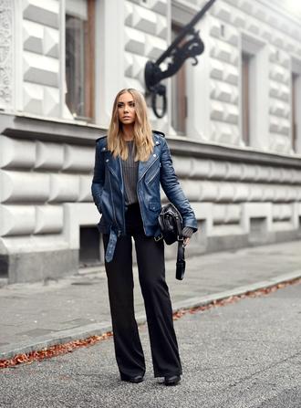 lisa olsson jacket bag blogger