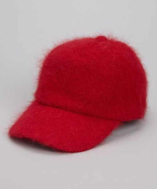hat fluffy baseball cap baseball cap hat