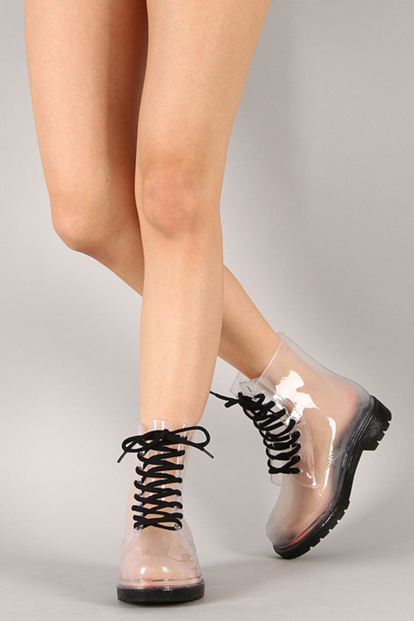 shoes DrMartens cool plastic hot girl fashion style see through