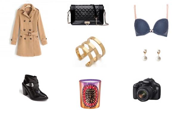 mafalda coat bag underwear jewels shoes