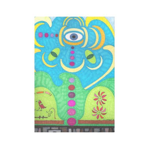 Canvas Art - Shroomin