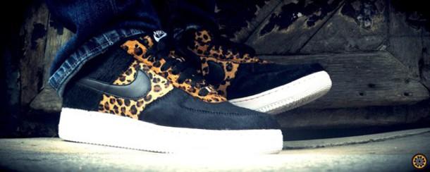 shoes nike leopard print black sneakers low top sneakers