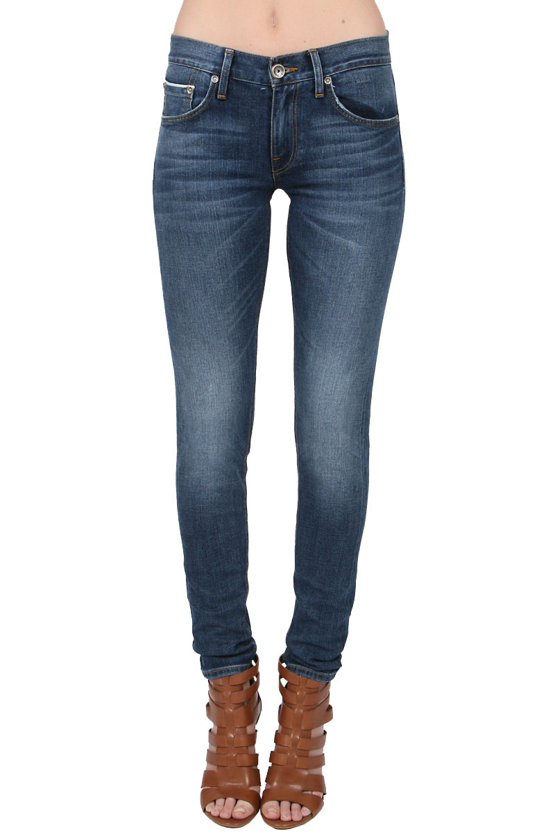 Strom tre skinny in medium wash