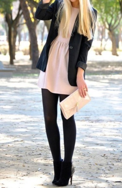 dress pink cute dress