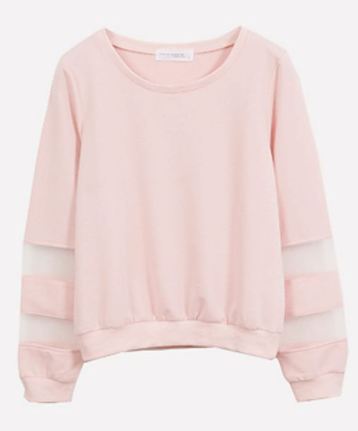 top pink shirt sweater t-shirt mesh top see through cute top cute sweater cute shirt powder pink kawaii pastel shirt