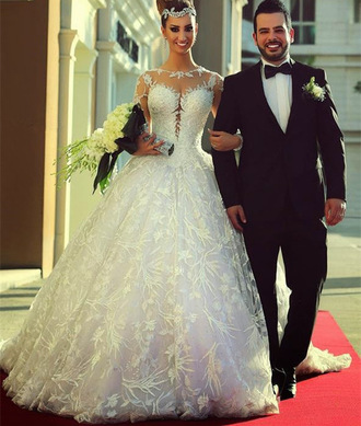 dress wedding wedding dress lace wedding dress vintage wedding dress bridal gown bride dresses tulle wedding dress vestido de noiva robe de mariage