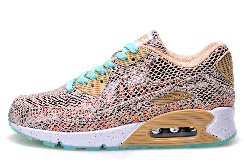 best authentic c8949 cfb13 Nike Air Max 90 Custom Fishnet Runing Shoes