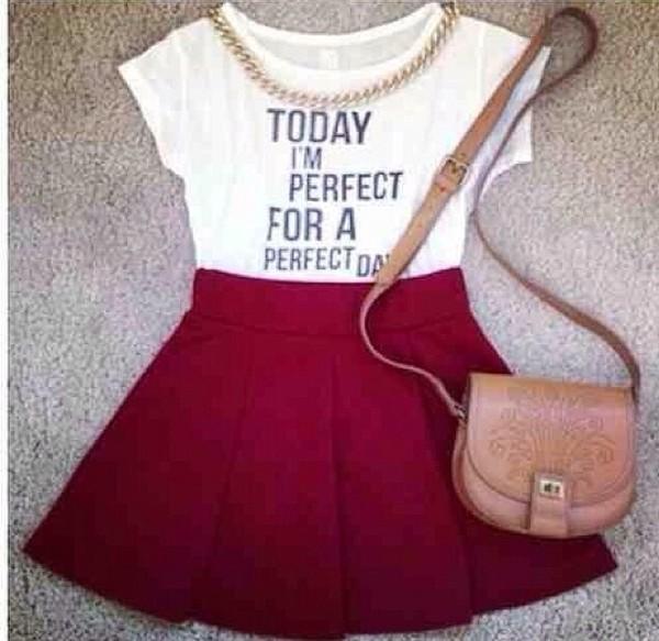 skirt fashion t-shirt