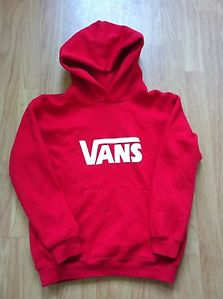 Vans Jumper Red | eBay