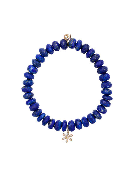 sydney evan beaded bracelet women beaded gold blue jewels