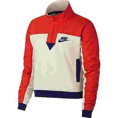 Nike Polar Sweatshirt Damen light cream-habanero red-regency purple im Online Shop von SportScheck kaufen