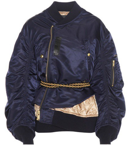 Undercover Bomber Jacket in blue