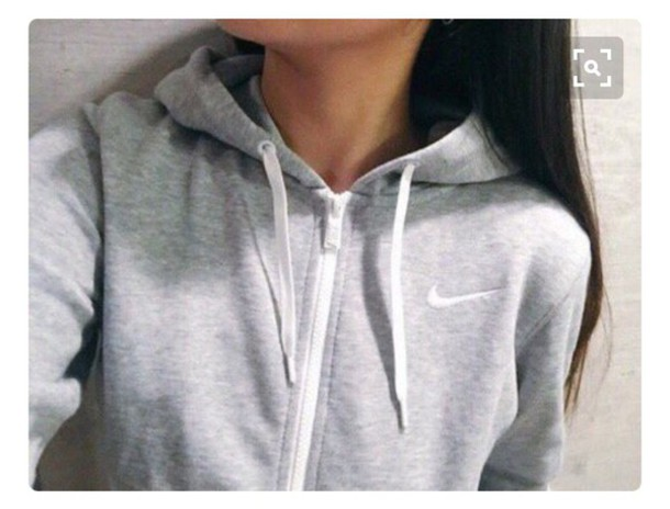 jacket nike nike sweater nike jacket grey hoodie grey sweater 8bbf23573929