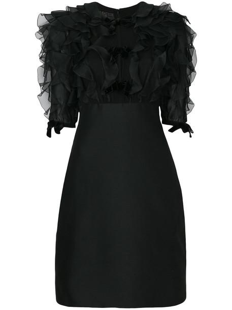 GIAMBATTISTA VALLI dress women black silk wool