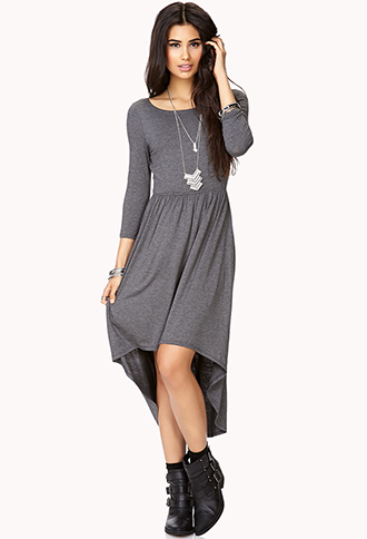 Favorite High-Low Dress | FOREVER21 - 2000073076