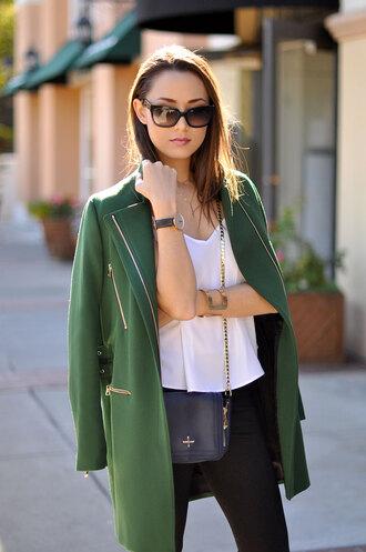hapa time blogger bag top sunglasses fall outfits