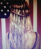 tress hair,hat
