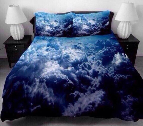 clouds bedding home accessory blue clouds comforter